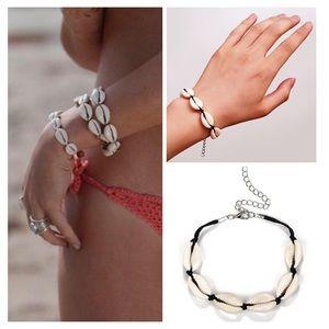 Jewelry - Shell Rope Braided Charm Bracelet Lucky Bracelet